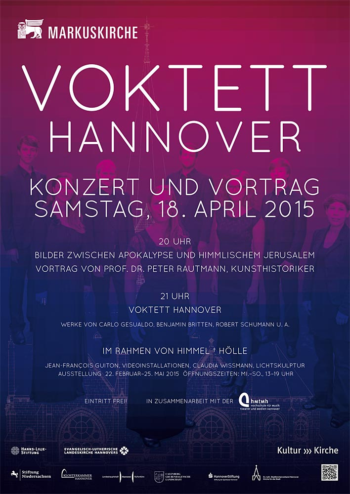 Voktett Hannover - Zwischen Himmel und Hölle, 18.04.2015